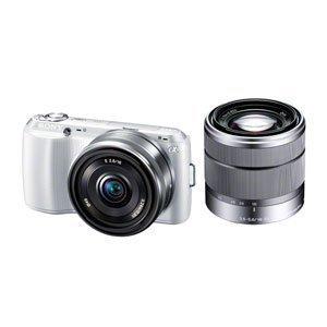 SONY ミラーレス一眼カメラ α NEX-C3 ダブルレンズキット ホワイト NEX-C3D/W