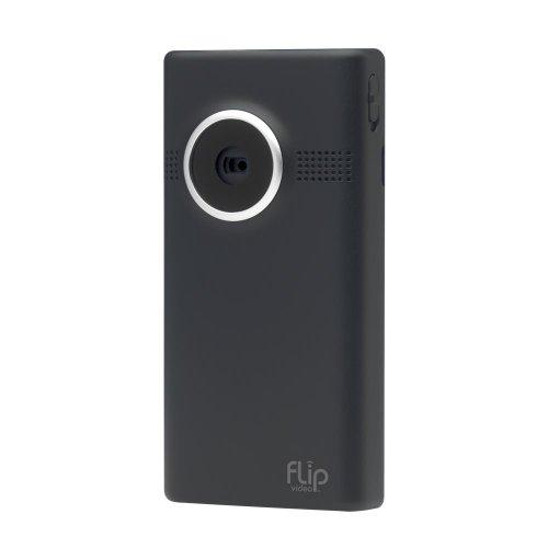 Flip MinoHD Video Camera - Black, 4 GB, 1 Hour (3rd Generation) NEWEST MODEL