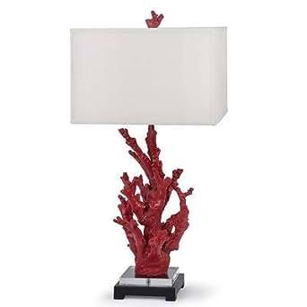 Regina Andrew Red Coral Lamp - - Amazon.com