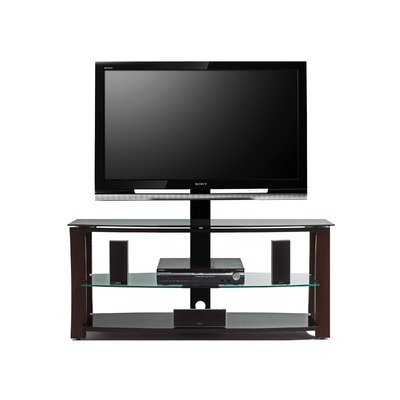 Cheap Answorth 52″ TV Stand with Swivel TV Bracket in Satin Espresso (AV2352-BRE)
