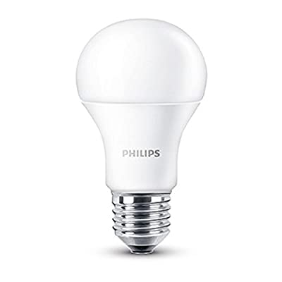 Philips 230 V E27 Edison Screw 9 W LED Light Bulb - Warm White Frosted