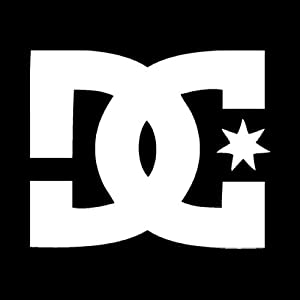 DC Decal Sticker ANY COLOR! 8 Inches by 6.4 inches
