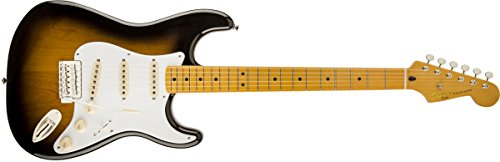 Squier by Fender Classic Vibe 50's Stratocaster Electric Guitar - 2-Color Sunburst - Maple Fingerboard (Fender Classic Vibe 50 compare prices)