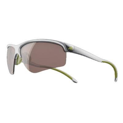 adidasadidas Adivista L a164 6089 Aviator Sunglasses,Silver & Lime,72 mm