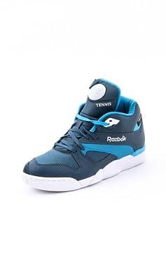 Shoes Court Victory Pump Blue/Blue Bomb/Blue Reebok W40 Men