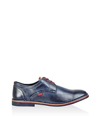 Wojas Zapatos derby Azul Marino