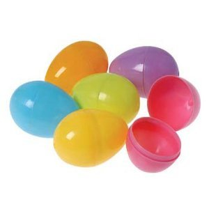Plastic Bright Easter Egg Assortment (24 pc)