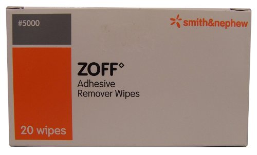 zoff plaster  adhesive remover wipes 20 wipes