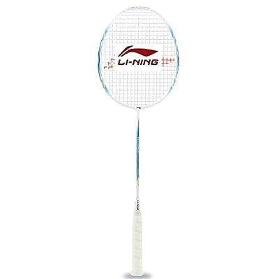 Li-Ning Lite 3500 G-Force Carbon Fiber Badminton Racquet, Size S2 (Blue)