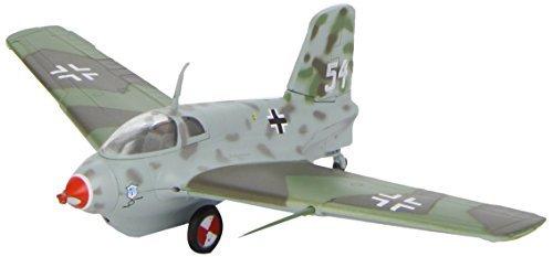 messerschmitt-me163-b-1a-komet-white-54-172-easy-model-plastic-model-kit-jet-by-daron-worldwide