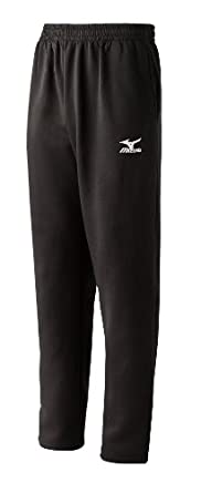 Mizuno Men's Classic Fleece G3 Sweatpants (Black, XX-Small)