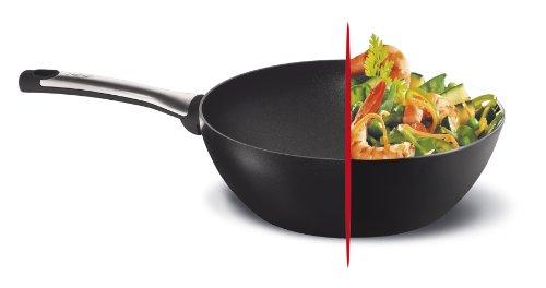 Tefal talent wok 28 cent metros thermospot 4 for Cocinar wok sin aceite