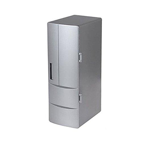 Bestpriceam (TM) Mini Portable Energy Saving USB Cola Drink Fridge Beverage Can Cooler Warmer Freezer Refrigerator