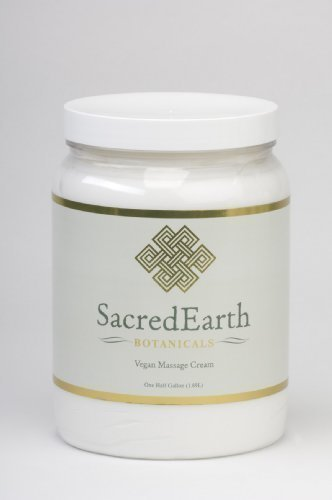 Sacred Earth Massage Cream - half gallon
