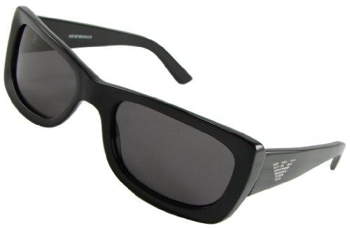 Emporio Armani Sunglasses, 9069/S, Black Frame/ Grey Lenses/ Crystals