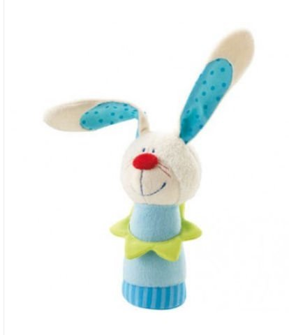 Haba USA 3686 Bunny Hugo Clutching Toy - Pack of 4