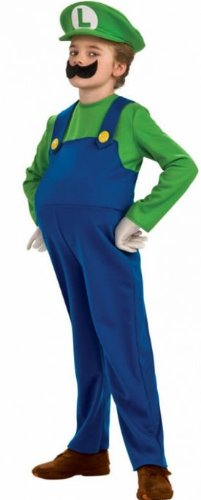 Costumes for all Occasions RU883656LG Deluxe Luigi Child Large