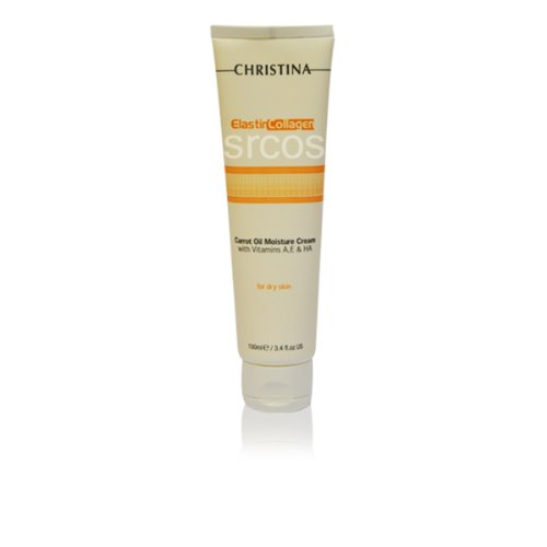 Christina Elastin Collagen Carrot Oil Moisture Cream 100Ml 3.4Fl.Oz front-521702