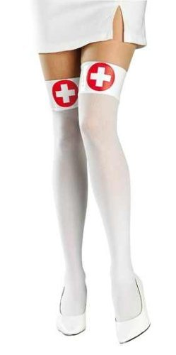 Naughty Nurse Thigh Highs Great with any Nurse Costume