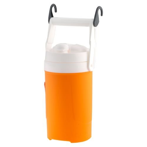 Orange Igloo 1/2 Gallon Sport Beverage Cooler With Chain Links -- Bpa Free front-173547