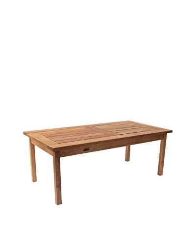 Amazonia Milano Eucalyptus Coffee Table, Brown