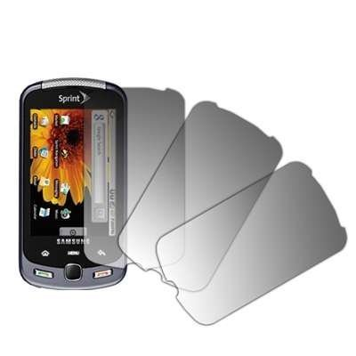 3 Pack of Premium Crystal Clear LCD Screen Protectors for Samsung Moment M900
