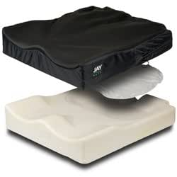 Amazon.com: JAY Easy Wheelchair Cushion Curved or Flat Bottom: Health & Personal Care