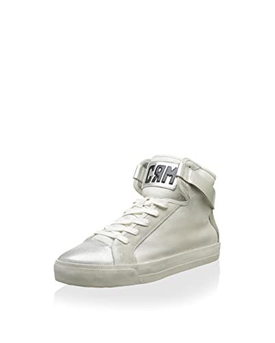 Crime London Sneaker Alta 21216S15 [Bianco Antico]