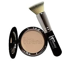 It Cosmetics Anti-Aging Celebration Foundation With Brush FAIR