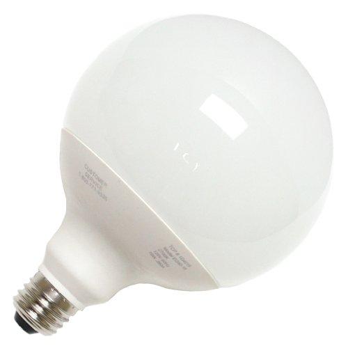 Tcp 1G4019 Cfl G40 - 75 Watt Equivalent (19W) Soft White (2700K) Decorative Globe Light Bulb