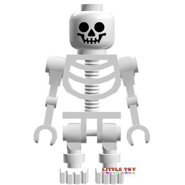Lego Skeleton - Star Wars Minifigure - 1