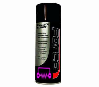 FORCE Electrical Cleaner 400 ml Aerosols Qty 6 - FORCE Chemicals, Oils & Paints