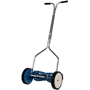 Great States 204-14 14-Inch Deluxe Hand Reel Push Lawn Mower