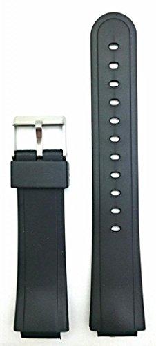 15Mm Black Watch Band