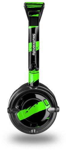 buy Zebra Green Decal Style Skin Fits Skullcandy Lowrider Headphones (Headphones Sold Separately)
