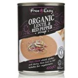 Free Natural Lentil & Red Pepper Soup 400g - CLF-FRN-LRP400