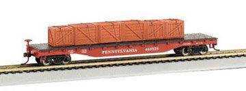 Imagen de Bachmann trenes Pennsylvania Vagón plana con Load-Ho Creado Escala