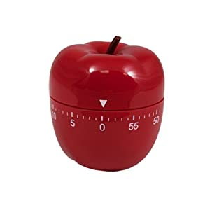 60 Minute Kitcher Timer (Red Apple) by Design Gifts
