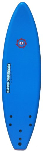 Liquid Shredder FSE EPS/PE Soft Surf Board (Blue, 6-Feet)