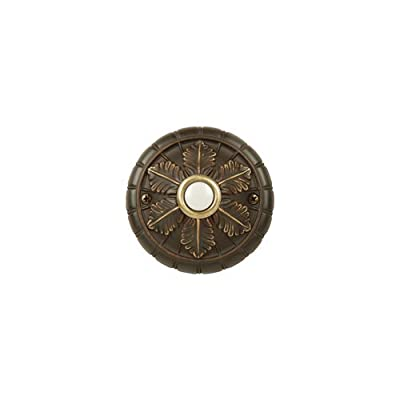 Craftmade BSMED Medallion Pushbutton from the Designer Surface Collection,