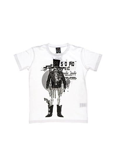 Scorpion Bay T-Shirt Manica Corta Jsb [Bianco]