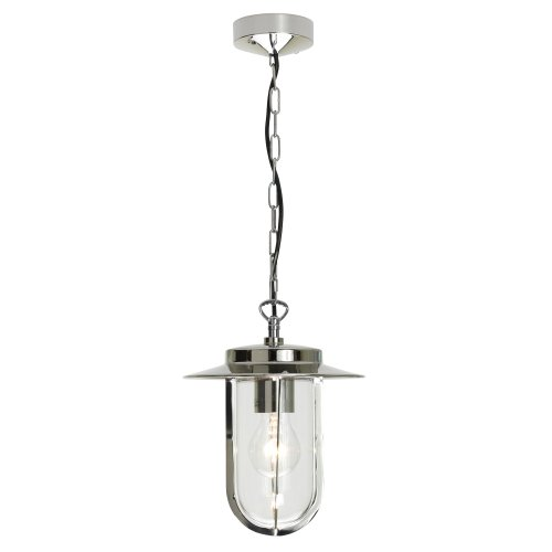 Astro 0671 E27 Montparnasse Pendant excluding 1 x 60 Watt 230 V Bulb, Polished Nickel