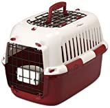 Europet Bernina 661-139431 Transportbox TFD 49 x 32 x 32 cm, rot