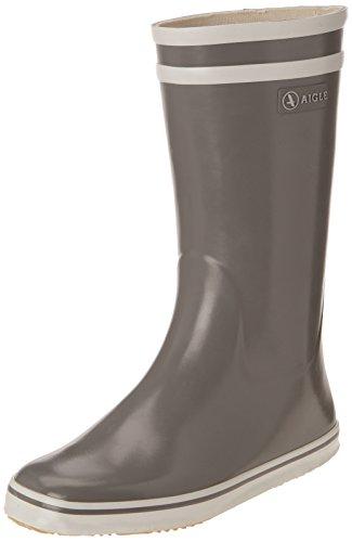 Aigle Malouine BT, Stivali di gomma altezza metà polpaccio Donna, Grigio (Grau (gris A)), 35
