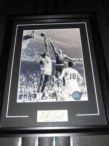 Buy Boston Celtics Bill Russell Autograph Framed Photo by Boston Sports
