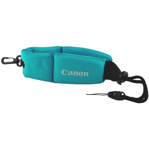 Canon Floating Strap For Canon Powershot D10 Waterproof Camera -Blue/Black