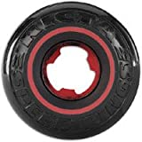 Ricta Speedrings 81B Skateboard Wheels (Black/Red, 52-mm)