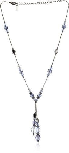 1928 Jewelry Elianna Navy Blue Y Necklace
