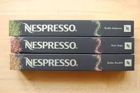 Nespresso Capsules Variations Set 2015 - Vanilla Cardamom / Ciocco Ginger/ Vanilla Amaretti