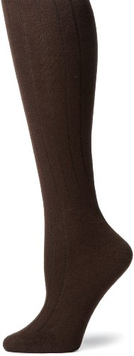 Capezio New York Women's Spun Rayon Rib Knee High Sock